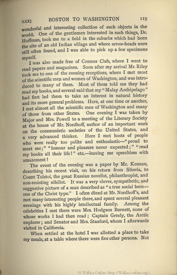 Wallace A R 1905 My Life A Record Of Events And Opinions